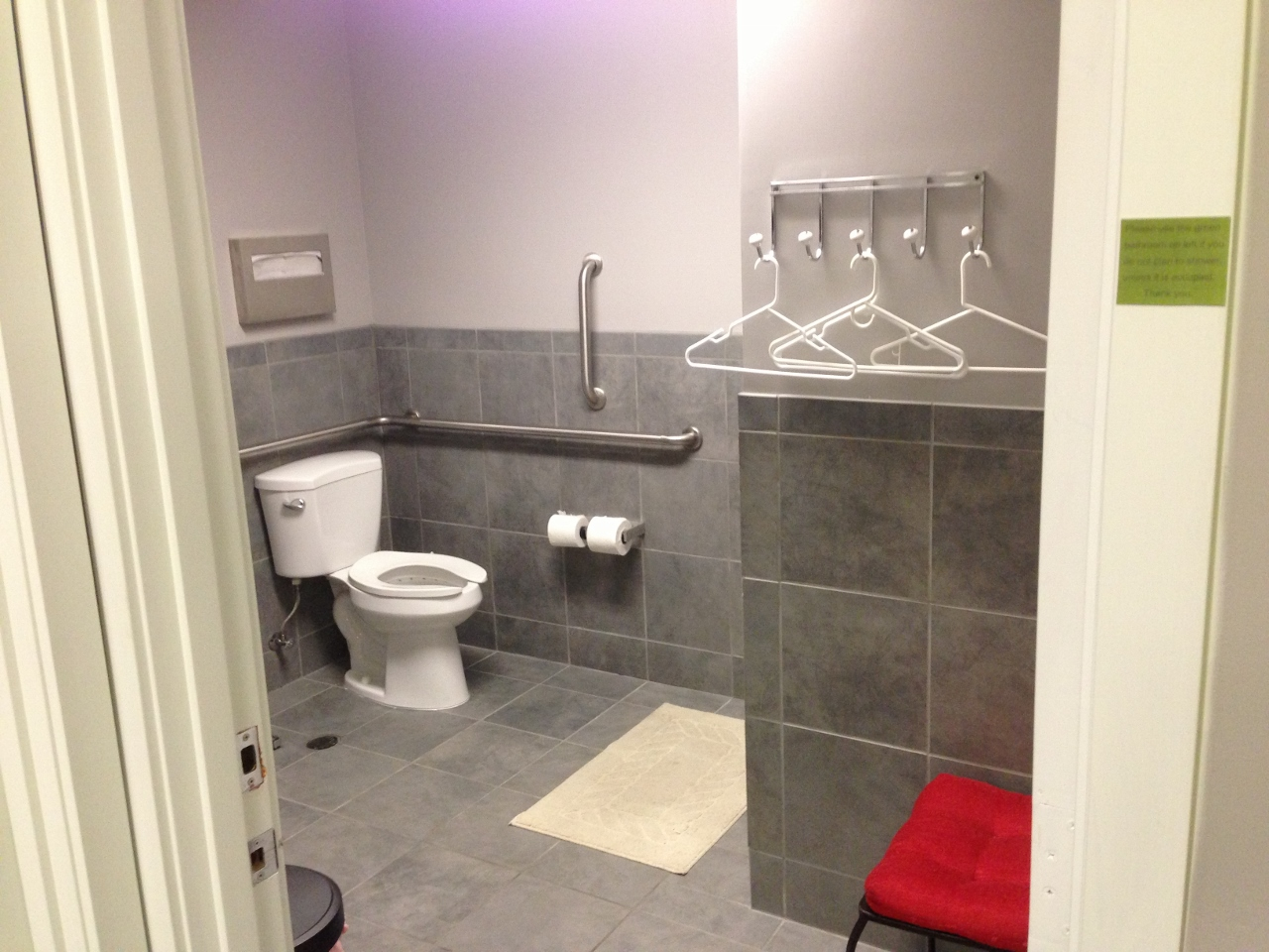 ada shower stall