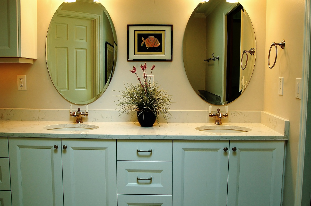 bathroom vanity cabinets - Bathroom Remodel Mirrors